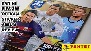 Panini FIFA 365 Stickers 2016 Official Sticker Album Review