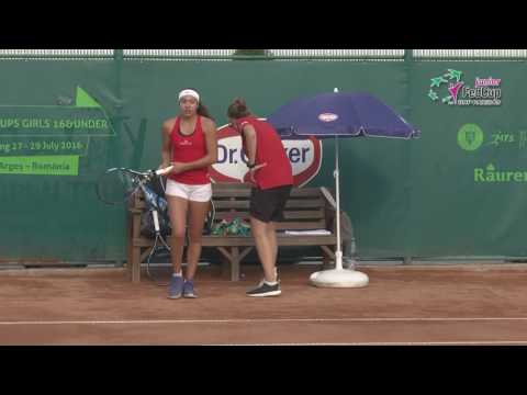 European Summer Cup 2016 - ziua1 Spania Romania meci2 set2
