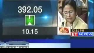 mamata banerjee presents railway budget 2011 etnow