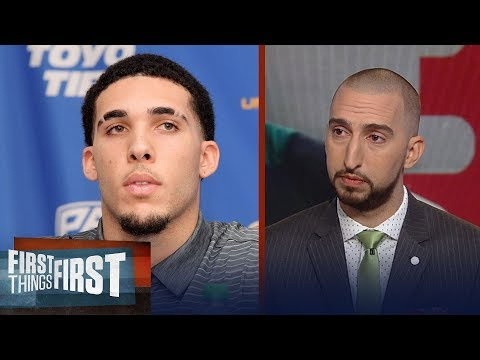 LiAngelo and LaMelo Ball to play in Lithuania - Is this a good idea? | FIRST THINGS FIRST