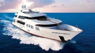 Glamourous Elegant Luxury Superyacht ROCKSTAR by Trinity Yachts