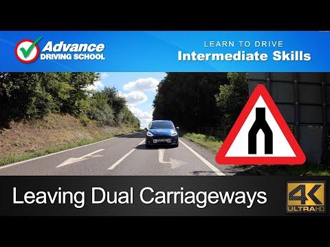 Leaving Dual Carriageways  |  Learning to drive: Intermediate skills