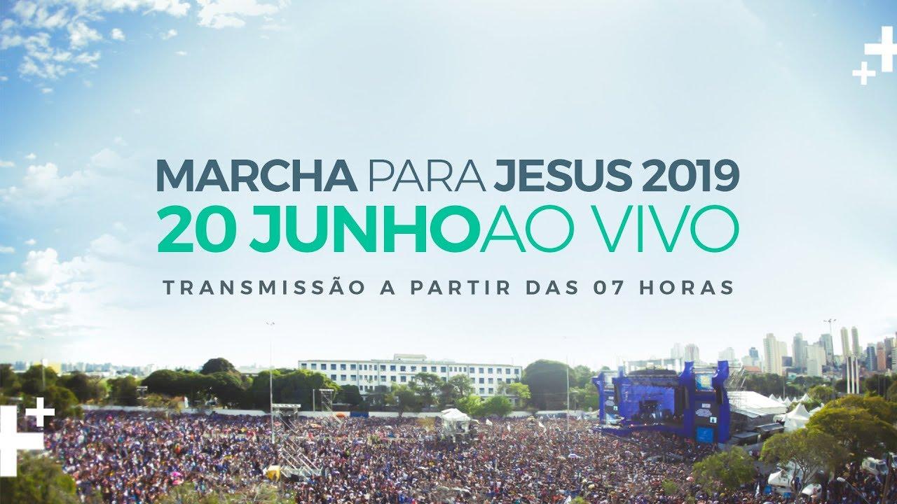 Resultado de imagem para Marcha para Jesus 2019 l Jesus o Resgatador