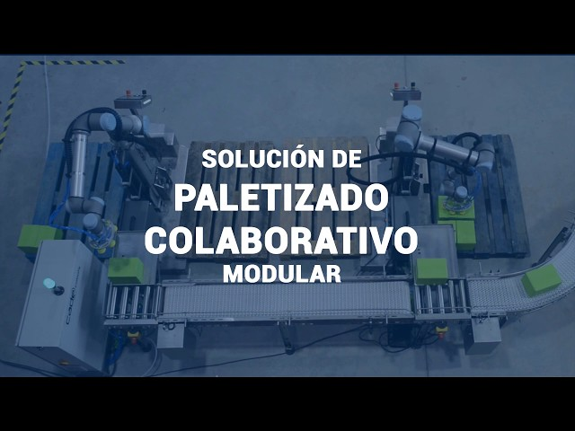 CADE COBOTS - Solución de Paletizado Colaborativo Modular con Cobots