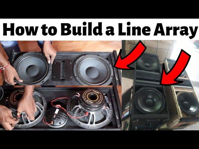 How To Build a Line Array - YouTubeYouTube