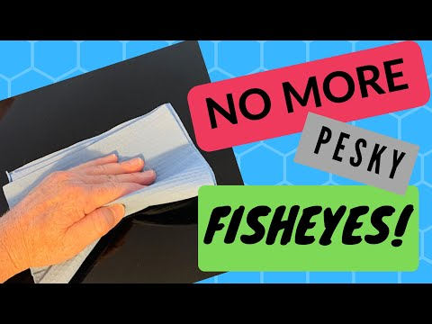 ARE YOU TIRED OF FISHEYES?  Watch This Video On How To Minimize The Chance Of Getting Them!
