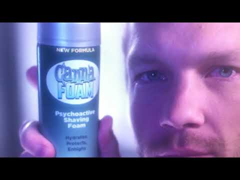 Canna Foam!  Weed shaving cream Hilarious 😂