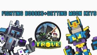 Trove fighting boss getting moon keys