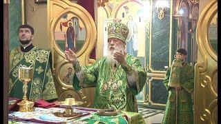 Праздничная  литургия в праздник Входа Господня в Иерусалим