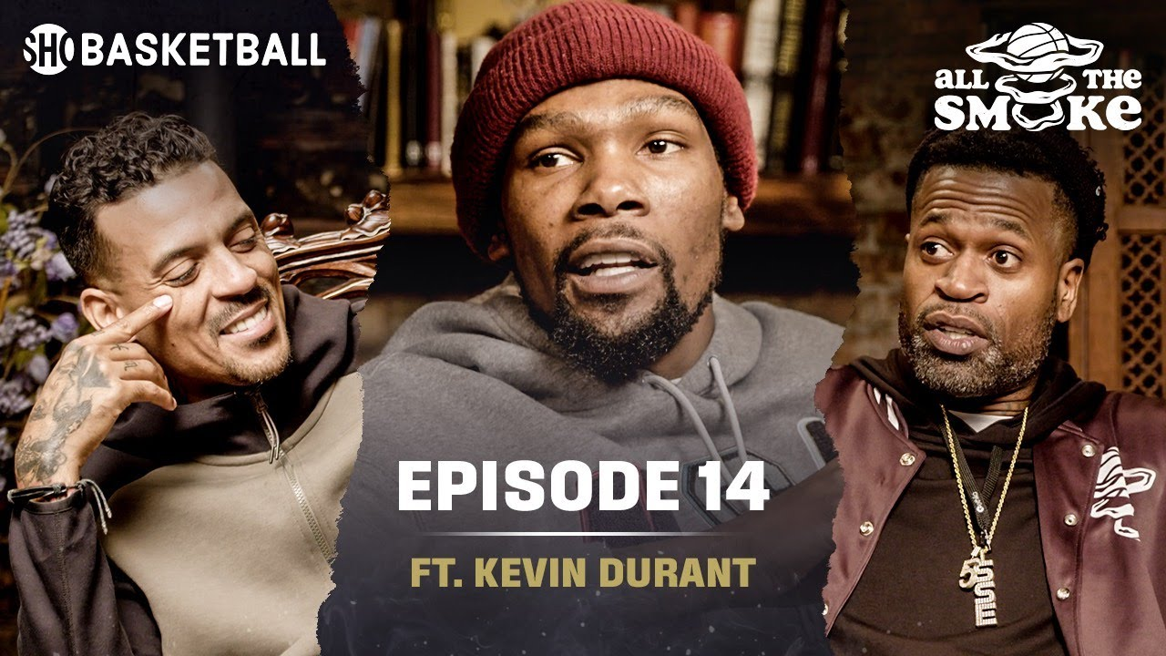 Download Kevin Durant   Ep 14   Perkins Twitter Beef, Warriors Run, Kyrie & Nets   ALL THE SMOKE Full Podcast