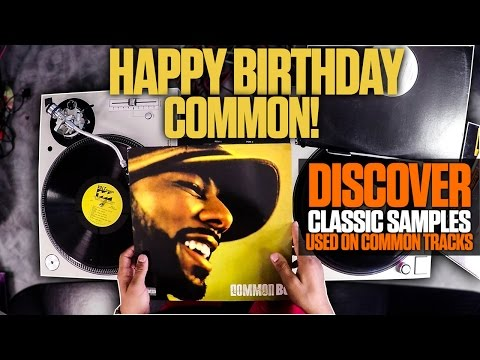 Discover Classic Samples Used On Common's Tracks