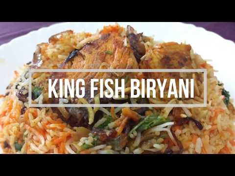 King Fish Biryani – Dubai Hotel Style |  Fish Biryani Dubai Style