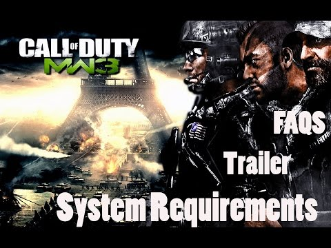 Call of duty Modern Warfare 3 System requirements || PC requirements