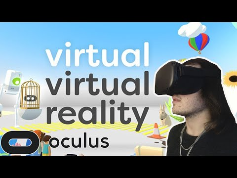 Virtual Virtual Reality Oculus Quest Gameplay