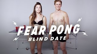 Blind Dates Play Fear Pong (Analisa & Aaron) | Fear Pong | Cut thumbnail