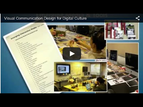 Visual Communication Design for Today's Digital Culture