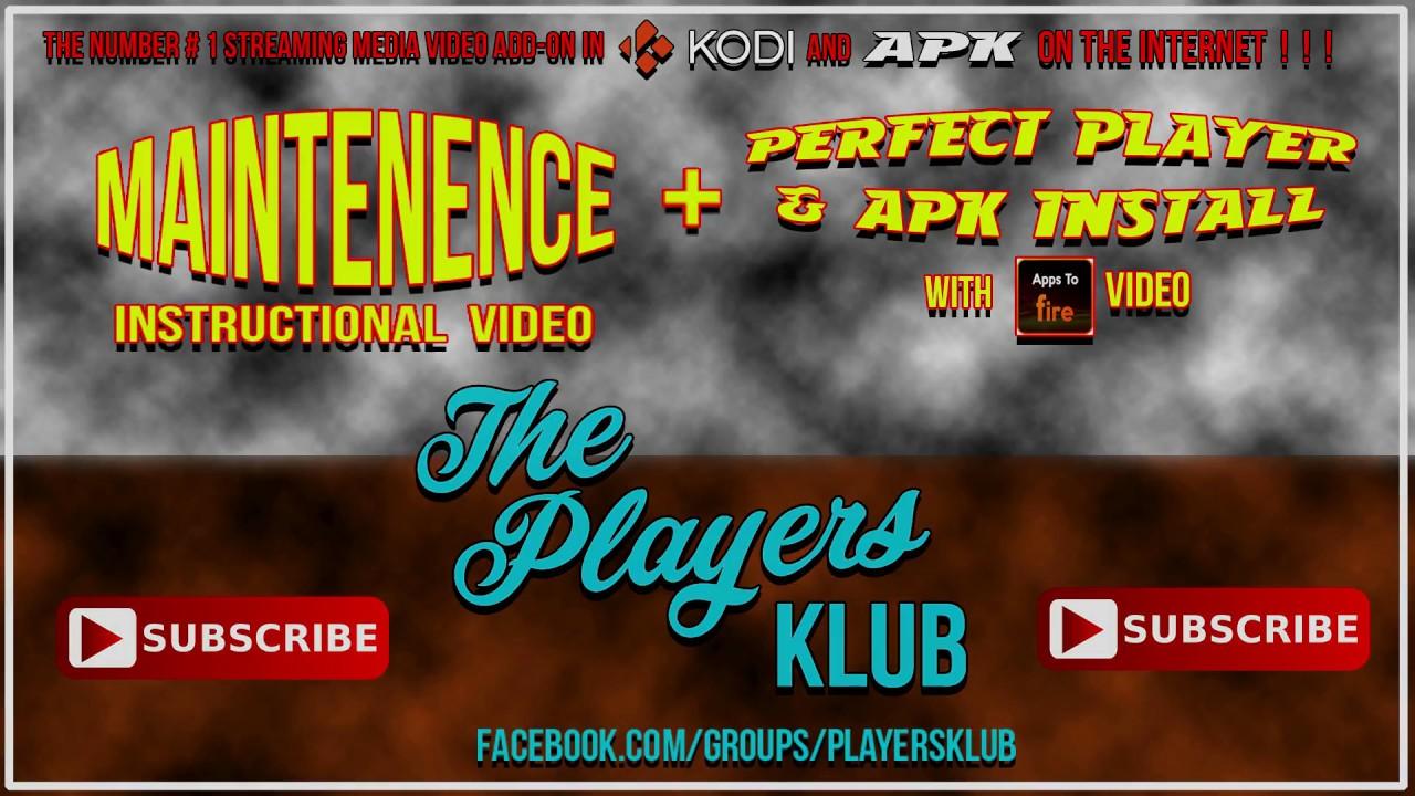 The PlayersKlub Maintenence and PP + TPK APK via APPS TO FIRE