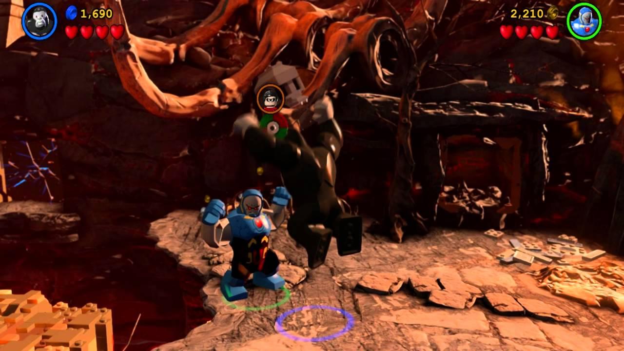 Gorilla Grodd vs Darkseid