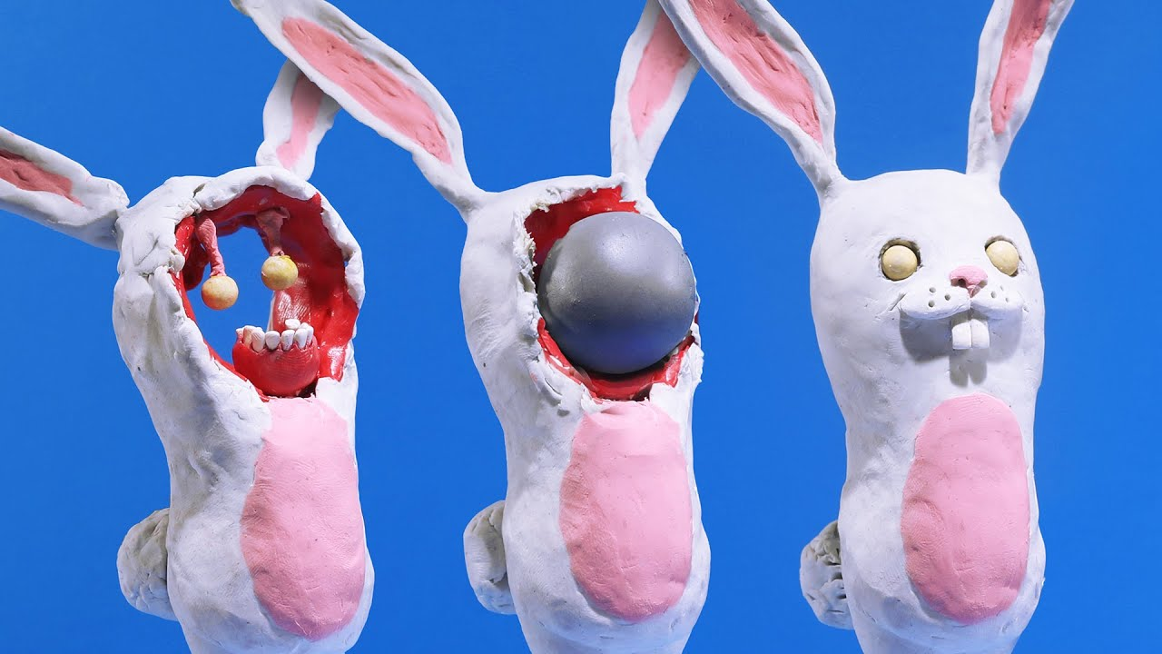 Bunnywith (a Stop Motion animation)
