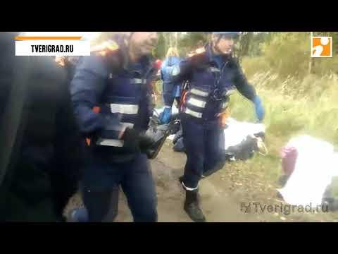 Под Тверью в автокатастрофе с двумя автобусами погибли 13 человек