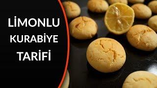 limonlu kurabiye tarifi nasıl yapılır - kolay limonlu kurabiye yapımı