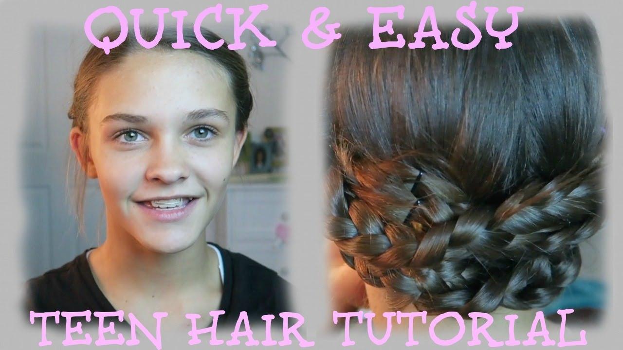 quick & easy teen hair tutorial