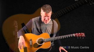 KAOS Gear Demo - Martin OMJM John Mayer Signature Acoustic Guitar