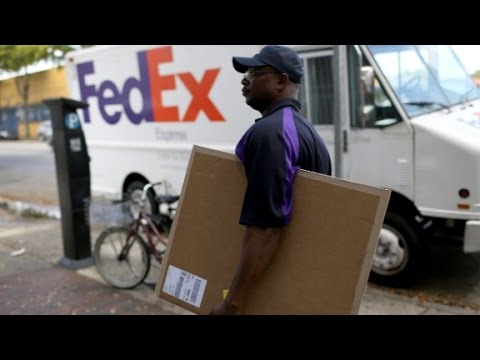 Inside the holiday rush at FedEx
