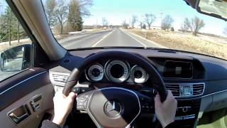 2014 Mercedes-Benz E250 BlueTEC - WR TV POV Test Drive