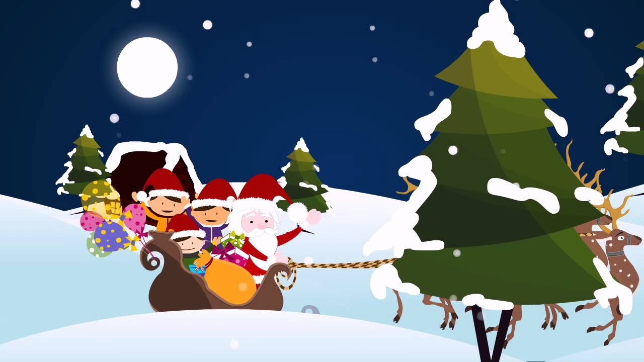 merry christmas animated video youtube - Christmas Animated Images
