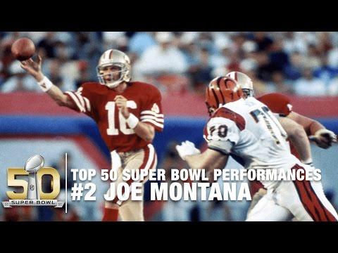 #2: Joe Montana in Super Bowl XXIII I Top 50 Super Bowl Performances