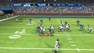 Madden 13 Online Gameplay Ranked Match ft Seahawks (So Tough)