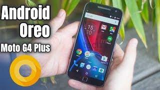 Moto G4 Plus Android Oreo 8 update