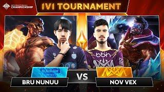 NOV.Vex x BRU.NuNuu: Kỹ năng tuyệt mĩ của King Of Solo | Chung kết giải đấu 1v1 AIC 2019