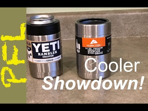 452b3b4d9b5 Yeti Colster vs. Ozark Trail Can Cooler: You Won't Believe Which Wins! -  YouTube