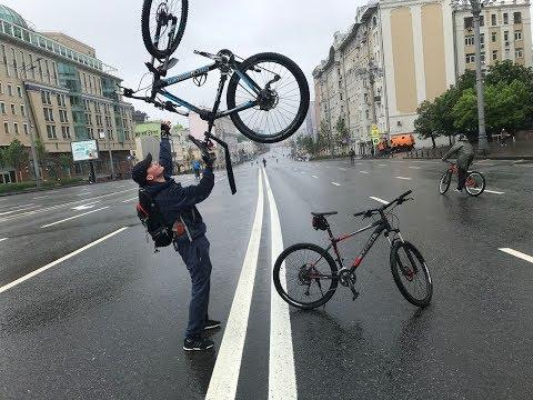 Мокрый Велопарад 2018 [lets bike it]