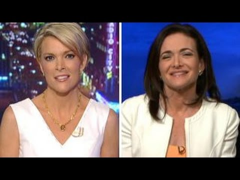 Megyn Kelly joins Sheryl Sandberg's new campaign for women