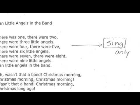 Ten Little Angels in the Band