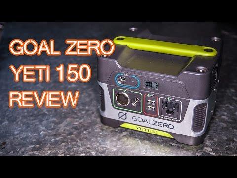 Goal Zero Yeti 150 Solar Generator Review (plus Nomad 20 Solar Panels!)