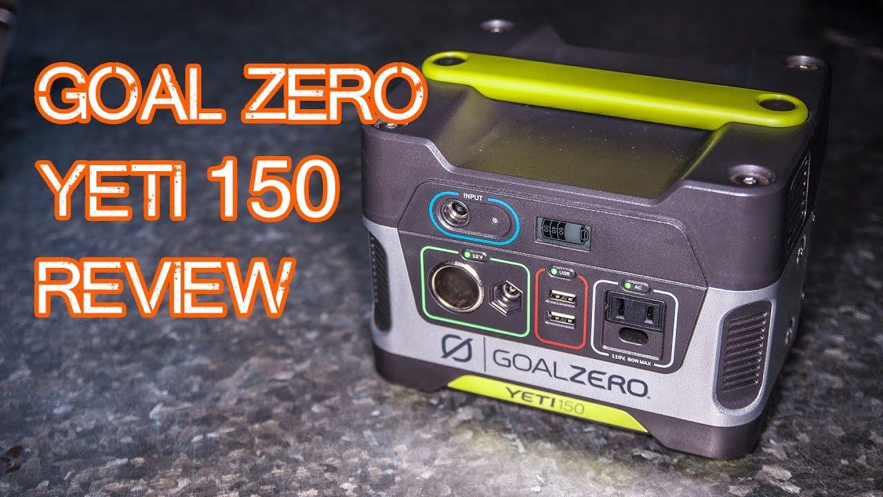 Goal Zero Yeti 150 Solar Generator Review (plus Nomad 2...   Doovi