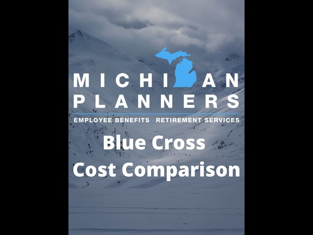 Blue Cross Cost Comparison