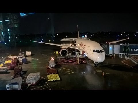 Boeing 787 - Avianca: Flight report AV46 [BOG-MAD]
