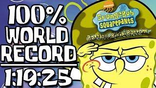 SpongeBob SquarePants: Battle for Bikini Bottom 100% Speedrun in 1:19:25 (WR on 12/10/2019)
