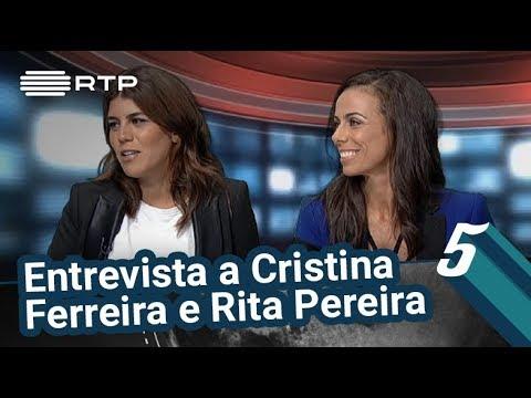 Entrevista a Cristina Ferreira e Rita Pereira | 5 Para a Meia-Noite | RTP