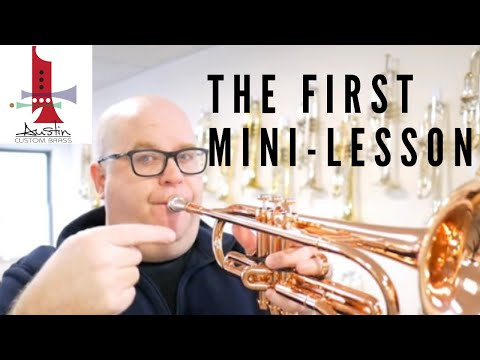 3 Minute Trumpet Tips  by Trent Austin (ACB) #1:  introduction to bending