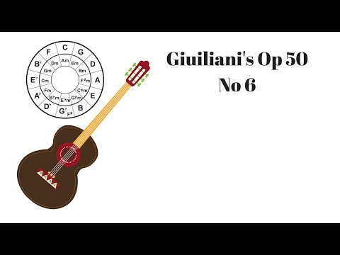 Classical Guitar Lesson - Mauro Giuliani's Op. 50 No. 6 - LIVE