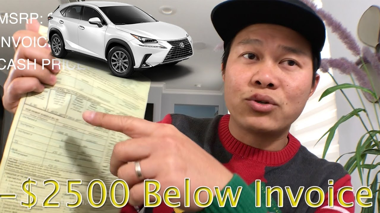 How Much I Paid For Lexus NX I Show You Invoice YouTube - Invoice price lexus nx