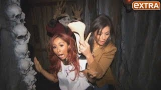 Snooki and JWoww Freak Out at Universal