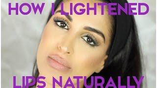 How to Lighten Dark Lips Naturally - MY EVERYDAY ROUTINE
