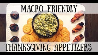 Thanksgiving Appetizers Made Healthy!